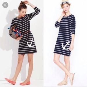 J crew anchor dress
